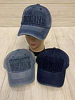 """Кепка детская для мальчика джинсовая """"Ferre"""" 54-55 см Цвет указывайте при заказе"""