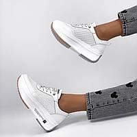 Класичні білі кросівки, фото 1