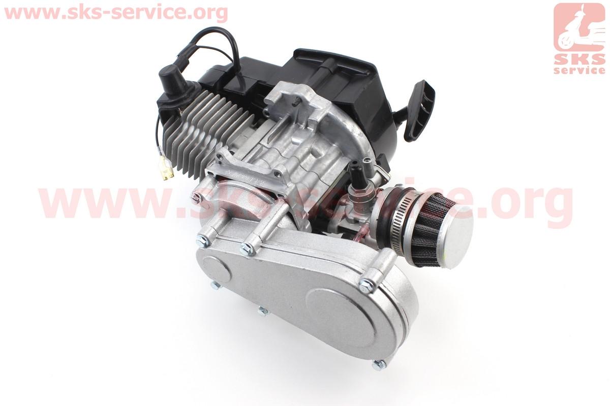 Двигун для дитячого квадроцикла, минибайка з редуктором 2Т 50сс