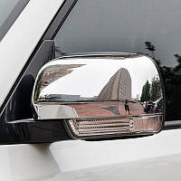 Хром накладки на зеркала Mitsubishi Pajero Wagon IV 2006-2014 (EGR)