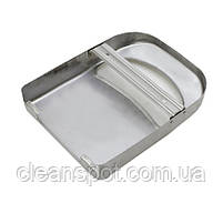 Тримач накладок на унітаз 1/4, нерж. метал, матовий. ZG-623S, фото 3