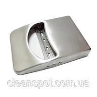 Тримач накладок на унітаз 1/4, нерж. метал, матовий. ZG-623S, фото 4