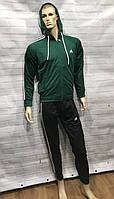 Мужской спортивный костюм Adidas с лампасами.Брюки манжет.Производство фабричная Турция.