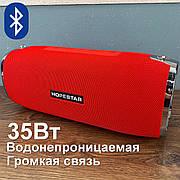 Портативная bluetooth колонка Hopestar A6 портативная акустика блютуз колонка мощная 35 Вт красная