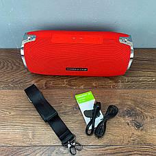 Портативная bluetooth колонка Hopestar A6 портативная акустика блютуз колонка мощная 35 Вт красная, фото 3