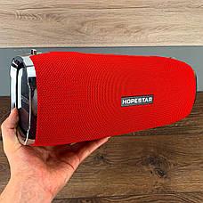 Портативная bluetooth колонка Hopestar A6 портативная акустика блютуз колонка мощная 35 Вт красная, фото 2