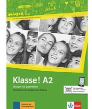 Учебник Klasse! A2 Kursbuch