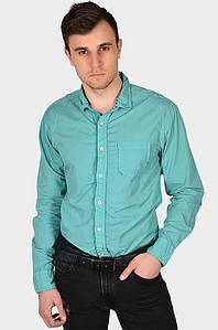 Рубашка мужская бирюзовая AAA 128969P