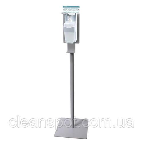 Стійка-тримач з дозатором для дезінфекції. D0103Grey