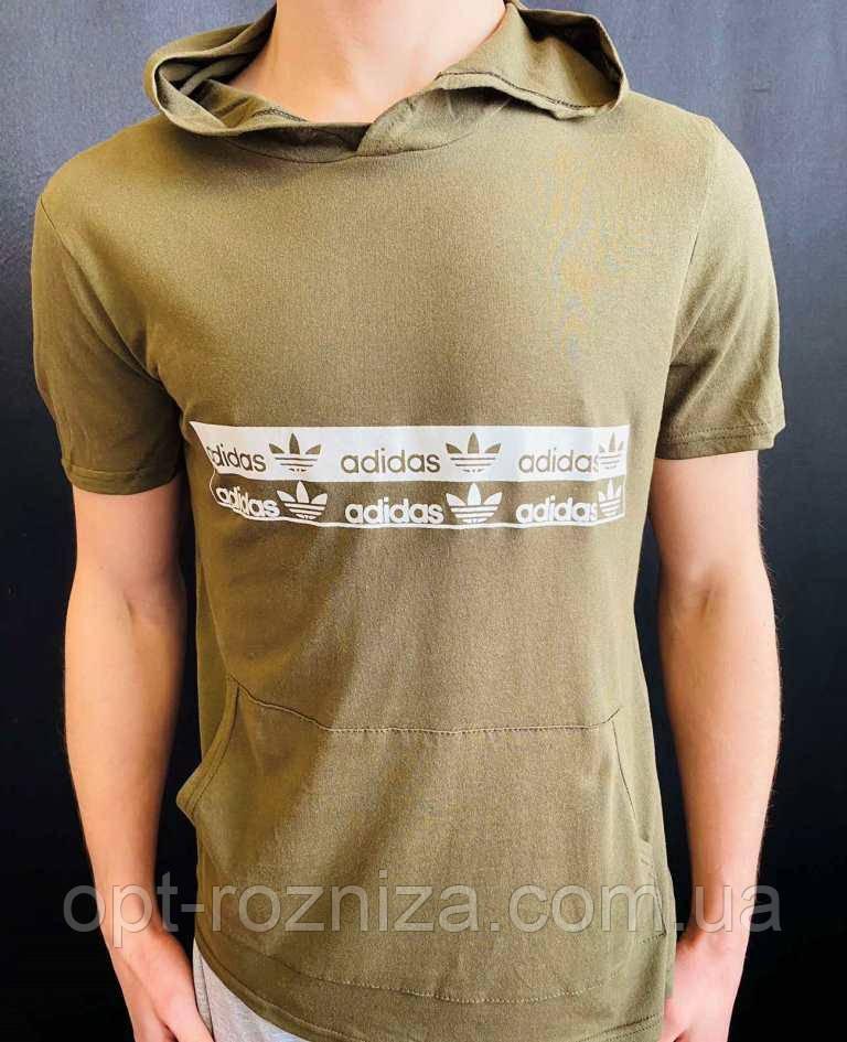 Чоловіча футболка з великою кишенею