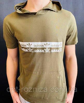 Мужская футболка с большим карманом