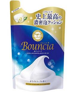 COW SOAP Bouncia Premium Высоко увлажняющий премиум гель для душа, аромат мыла, пополнение 400` мл