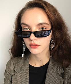 Трендовые узкие солнцезащитные очки трендові вузькі сонцезахисні окуляри