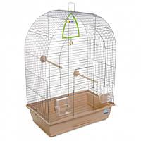 Клетка для птиц Природа Арка 44 x 65 x 28 см Хром/бежевая (4823082414949)
