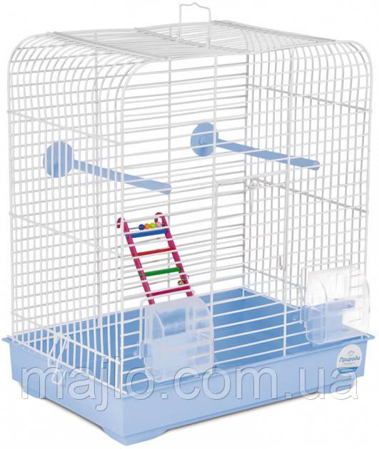 Клетка для птиц Природа Белла 37 х 25 х 37 см Светло-голубая (4823082415038)