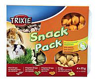 Набор дропсов для грызунов TRIXIE  (фрукт+овощ+морковь+молоко/мёд) 60362