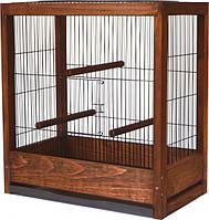 Клетка для птиц Лори Loft Ретро 50 х 46.5 х 29 см Коричневая (4823094305440)