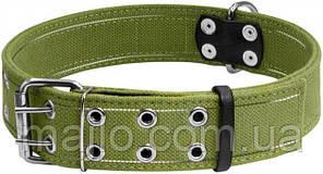 6139 Ошейник Collar двойной х/б тесьма со светоотражающей нитью 45 мм 56-71 см