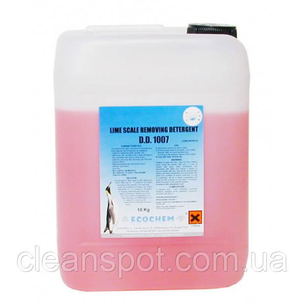 Засіб миючий засіб для видалення вапняного нальоту 10кг. D. D. 1007
