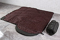 Широкий спальный мешок, спальник одеяло -10