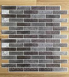 Пластикова панель бісмарк 960 * 485мм сірий 1 шт