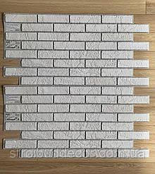 Пластикова панель бісмарк 960 * 485мм білий 1 шт