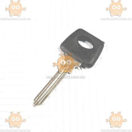 Заготівля ключ замка запалювання ВАЗ 2108 - 21099 новий тип (пр-во Росія) З 925323, фото 2