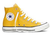 Кеды Converse Chuck Taylor All Stars высокие Желтые 37 р.