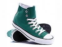 Кеды Converse Chuck Taylor All Stars высокие Зеленые 36 р. (B2)