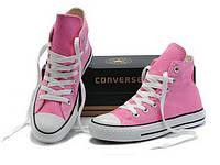 Кеды Converse Chuck Taylor All Stars высокие Розовые 40 р.