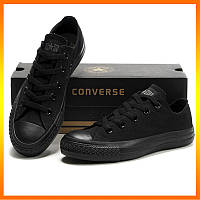 Кеды Converse Style All Star 2 Черные низкие (44р) Въетнам