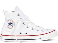 Кеди Converse Style All Star Білі високі (42 р.) Тотальний розпродаж