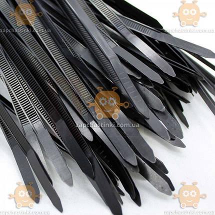 Хомуты пластиковые черные 7,6х500 (50шт) (пр-во Аляска) З 964443, фото 2
