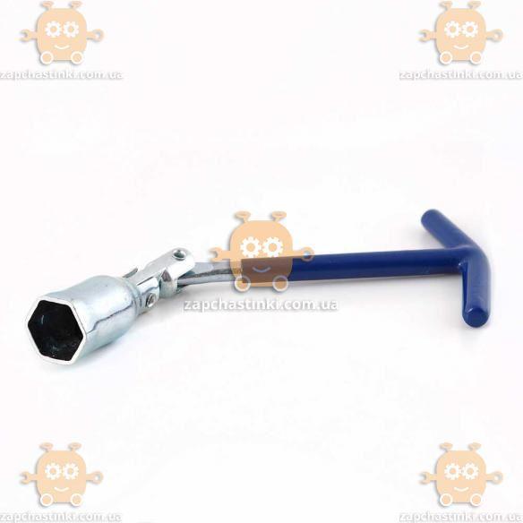 Ключ свічний карданний 21мм (пр-во KING Польща) З 533923 БЕНКЕТ 4261