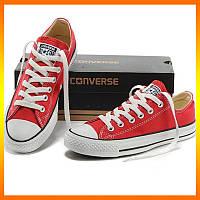 Кеди Converse Style All Star Червоні низькі (39р) В'єтнам