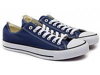 Кеди Converse Style All Star Сині низькі (35р) Тотальний розпродаж