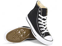 Кеди Converse Style All Star Чорні високі (44 р.) Тотальний розпродаж