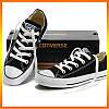 Кеди Converse Style All Star Чорні низькі (45р) Тотальний розпродаж