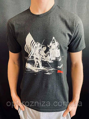 Летняя хлопковая футболка для мужчин