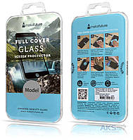 Защитное стекло MakeFuture Full Cover Full Glue Samsung A530 Galaxy A8 2018 Black (MGFCFG-SA818B)