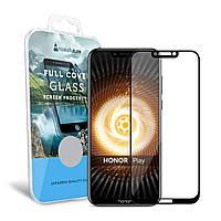Защитное стекло MakeFuture Full Cover Huawei Honor Play Black (MGFC-HPB)