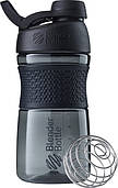 Спортивная бутылка-шейкер BlenderBottle SportMixer Twist 20oz / 590ml Black (ORIGINAL)