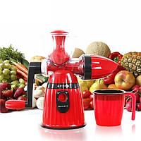 Соковыжималка ручная Maileyi Hand Juicer Ice Cream цвет красный