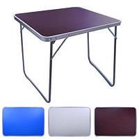 Раскладной туристический стол для пикника складывается в чемодан нагрузка 20 кг M 70*50*60 см