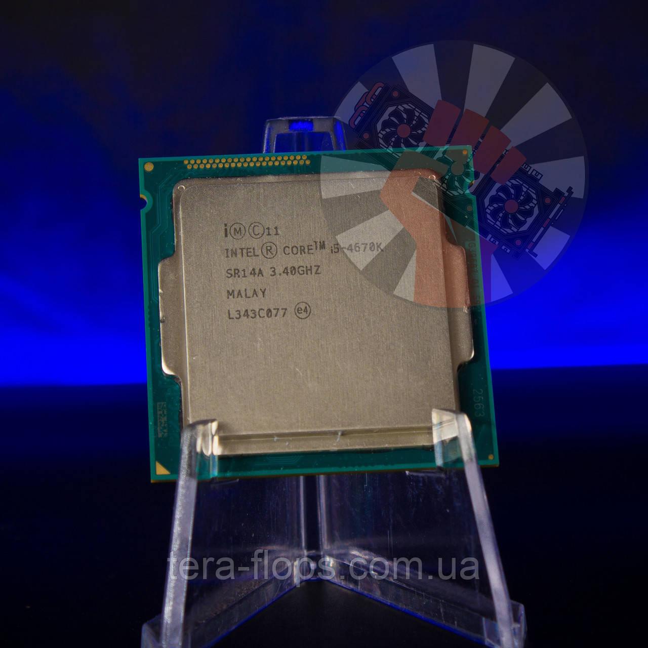 Процессор Intel Core i5 4670K LGA 1150 (BX80646I54670K) Б/У