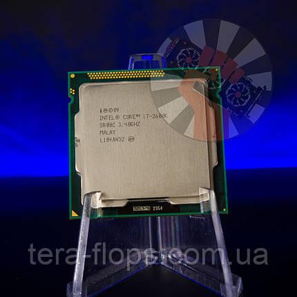 Процессор Intel Core i7 2600K LGA 1155 (BX80623I72600K) Б/У, фото 2