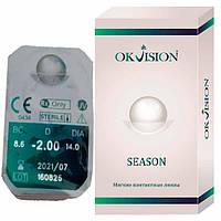Контактные линзы OkVision Fusion Season 2 шт