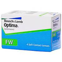 Контактные линзы Bausch & Lomb Optima FW 4 шт