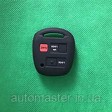 Чехол ключа TOYOTA Land Cruiser, Camry, Avensis (Тойота Ленд Крузер) 3 - кнопки