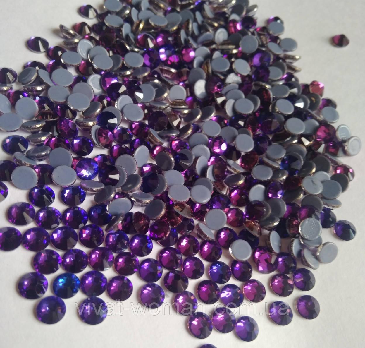 Стразы А+ Премиум, Purple Velvet SS20 (4,8-5,0 мм) термоклеевые. Цена за 144 шт.